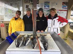 Great fishing charters nanaimo 4 chinook salmon
