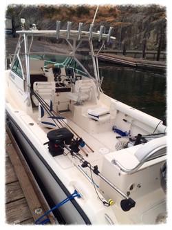 pursuit 2470 fishing charter boat