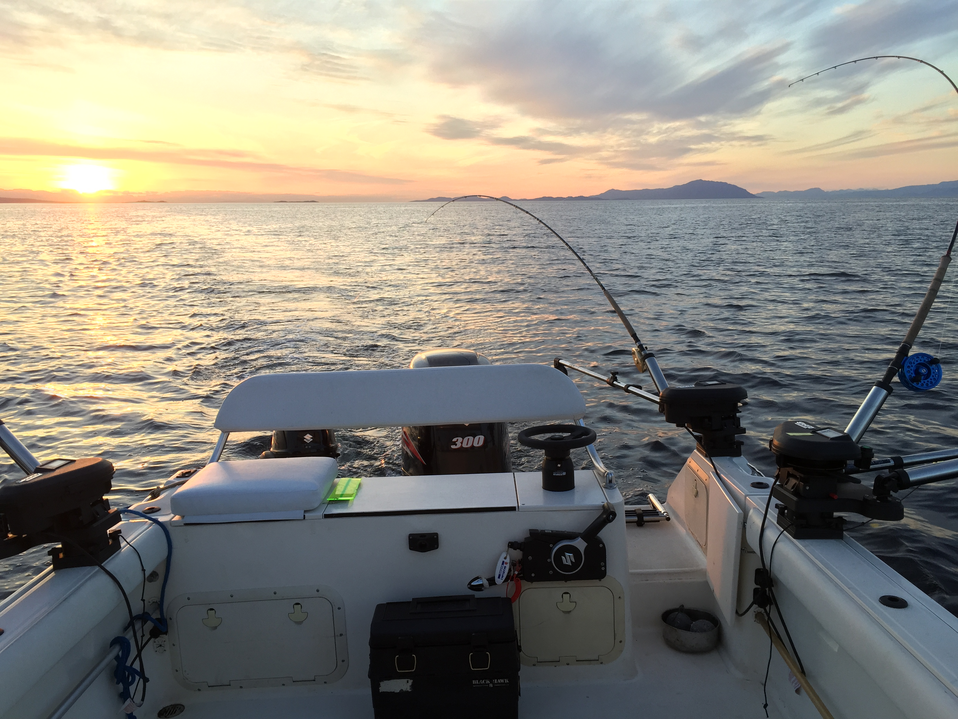 Pursuit boat Nanaimo fishing charter
