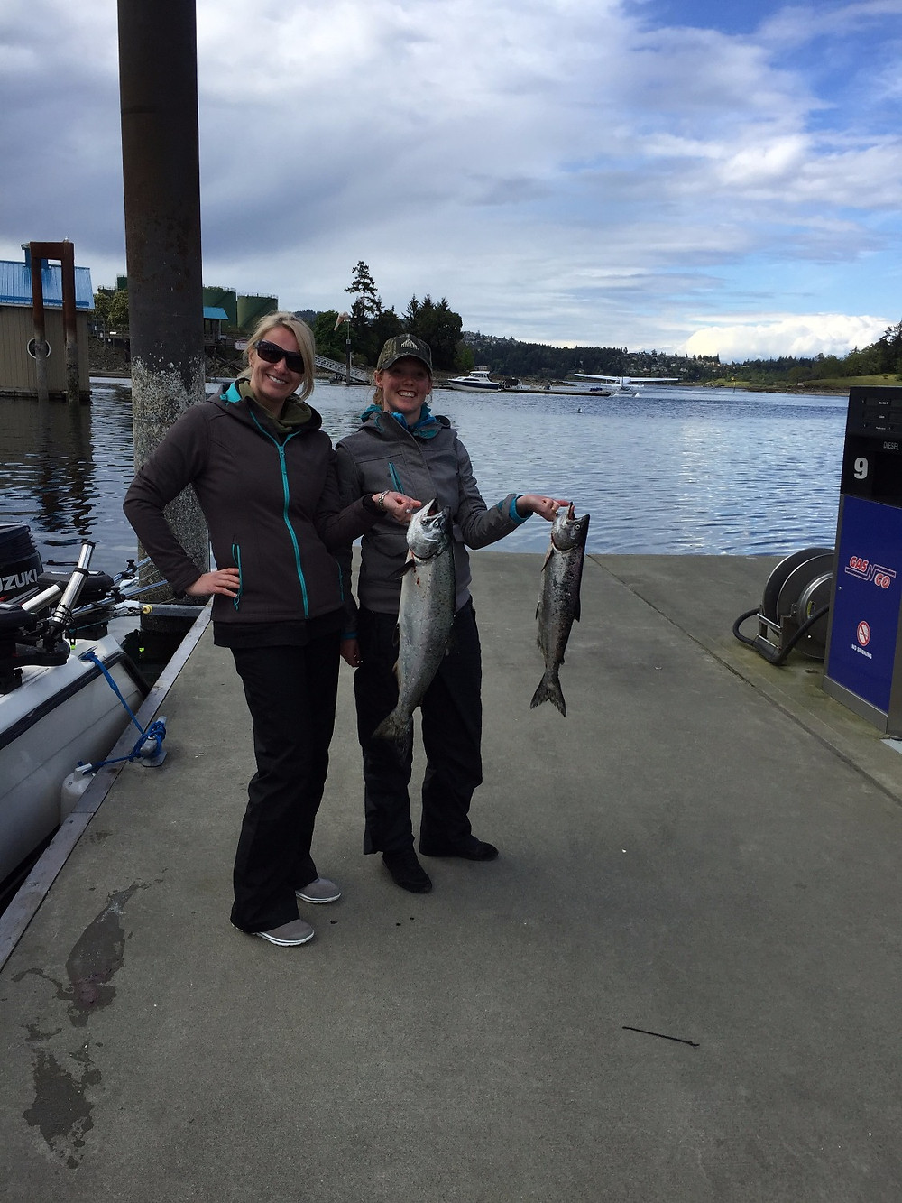 Chinook salmon fishing charters nanaimo