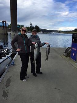 chinook salmon fishing charters nanaimo