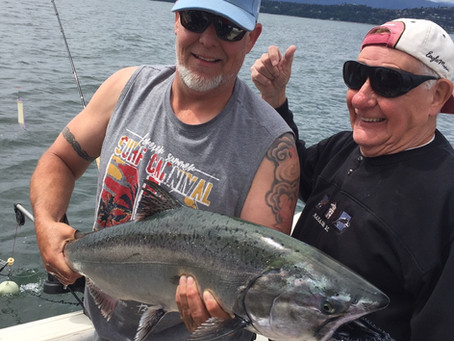 Nanaimo Fishing Charters June Report