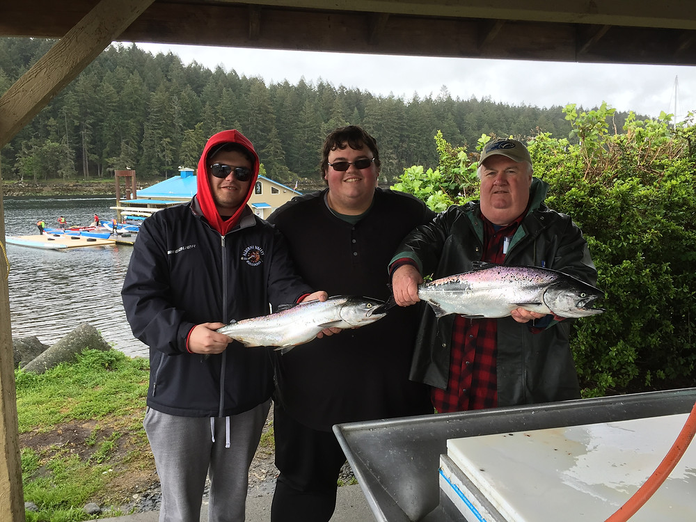 nanaimo fishing charters spring salmon