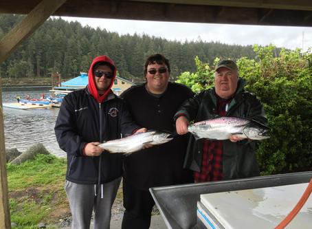 Nanaimo Fishing Charters April Report