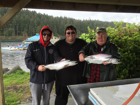 Nanaimo Fishing Charters April Report