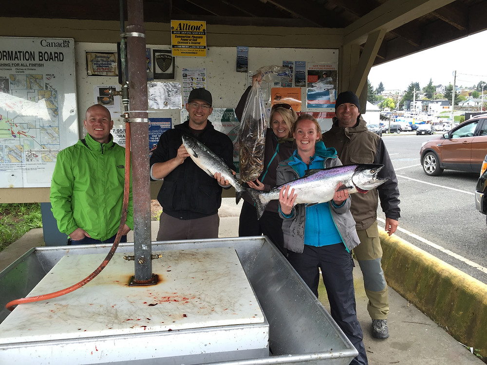 good day nanaimo fishing charters