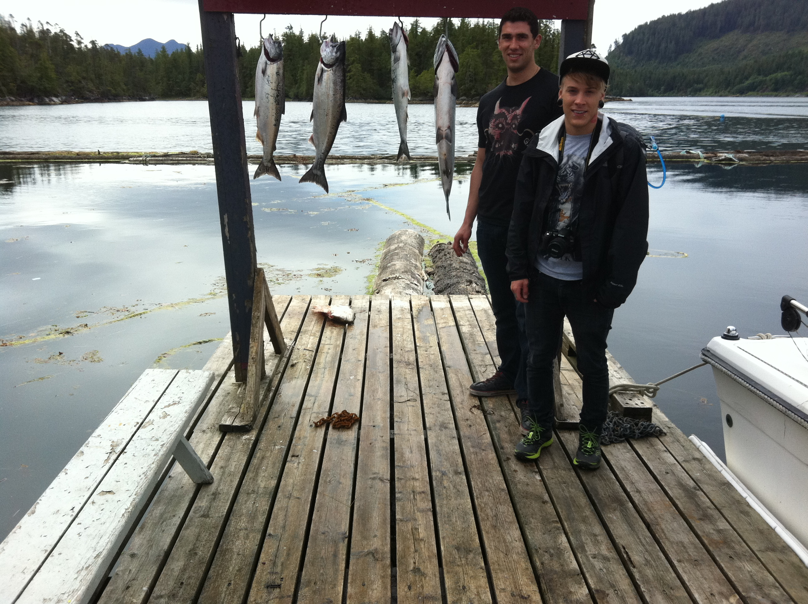 Nootka sound fishing charters