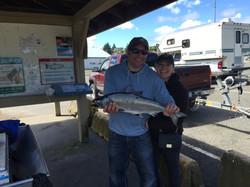 fishing charters nanaimo chinook salmon