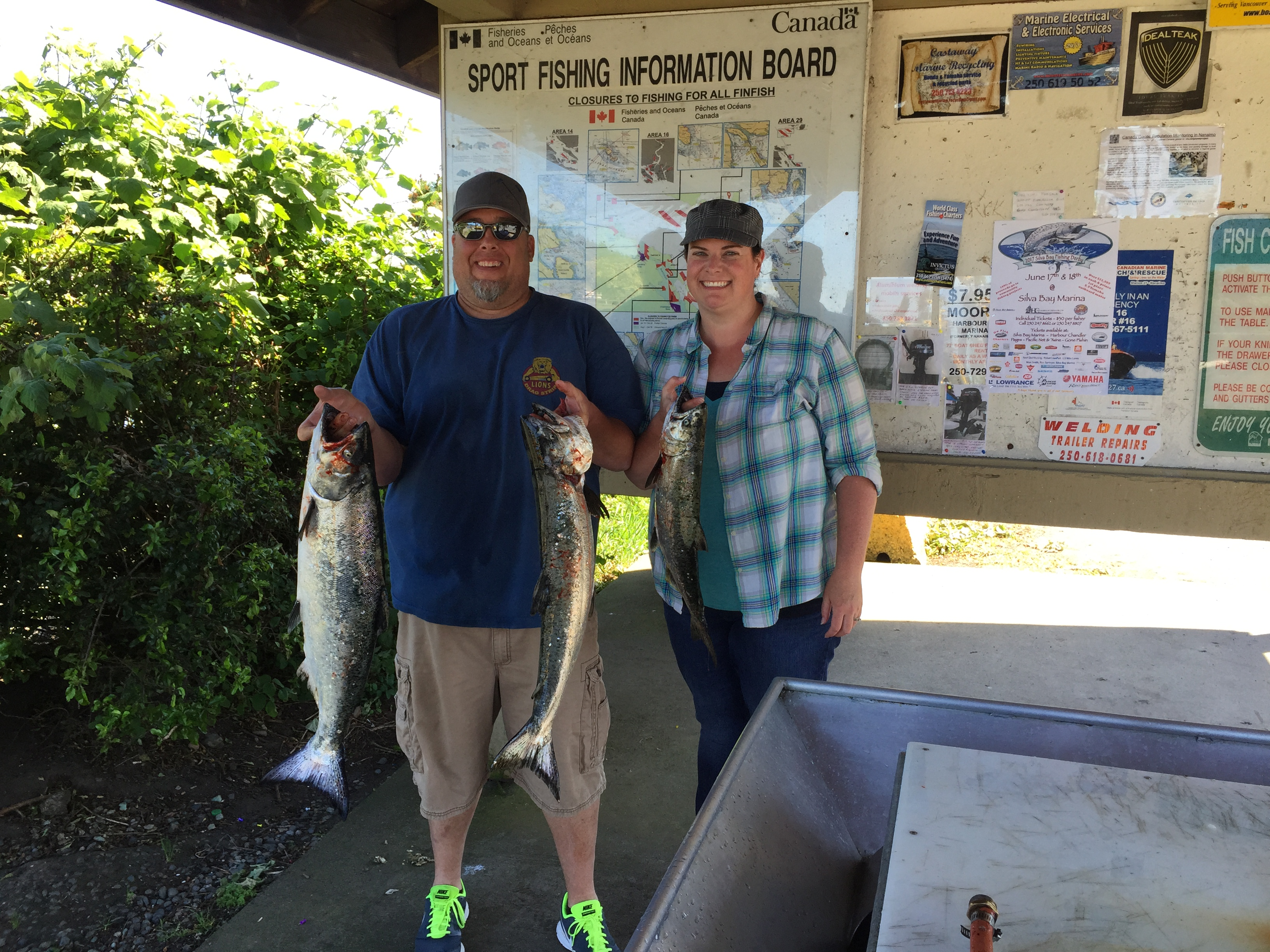 Nanaimo fishing charters chinook salmon