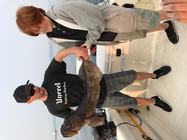 fishing charters nanaimo 20 pound lingcod