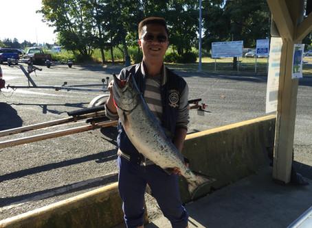 Nanaimo Fishing Charters Report 7/4/17