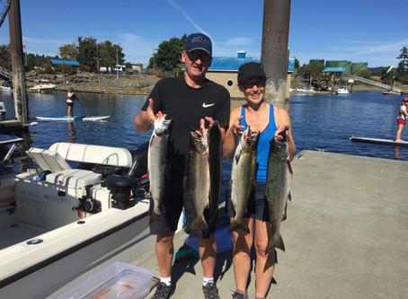 Nanaimo Fishing Charters Report 7/19/2017