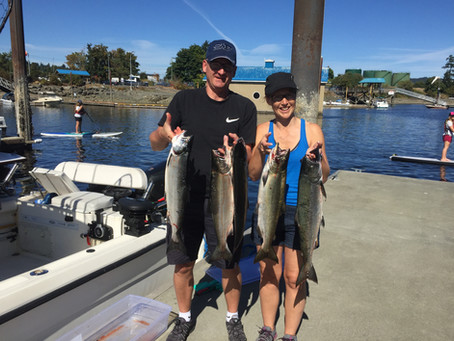 Nanaimo Fishing Charters Report 7/19/2017