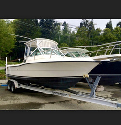 pursuit fishing charter boat