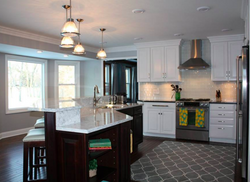 White kitchen, Montgomery