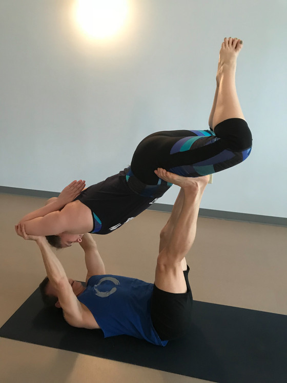 AcroYoga: Attempting and Achieving