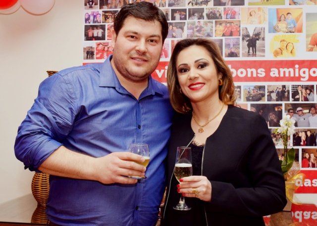 Parabéns ao casal