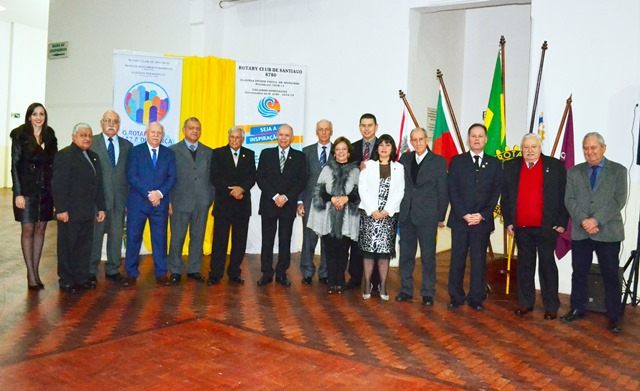 Rotary com nova diretoria