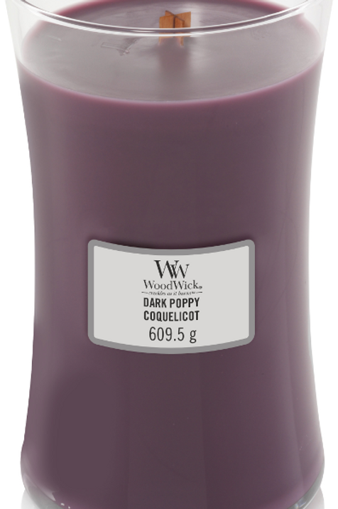 WW Dark Poppy Large Candle