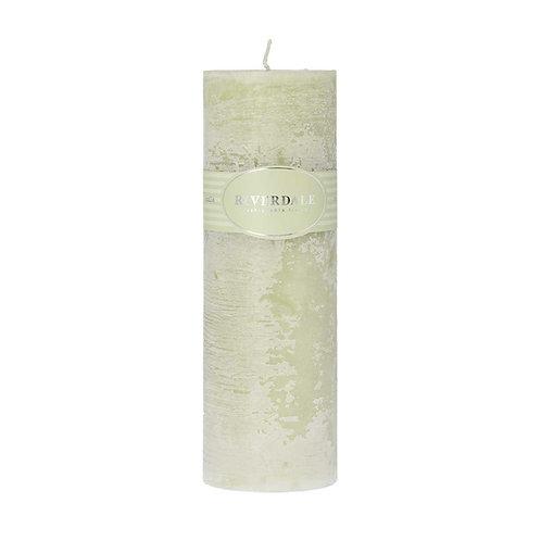 Geurkaars Pillar pistache 7.5x23cm