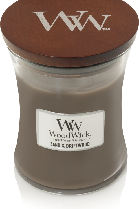 WW Sand & Driftwood Medium Candle
