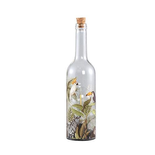 PTMD Glass led lamp bottle jungle S