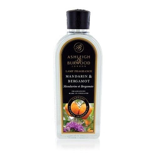 Mandarin & Bergamot 500ml lamp oil