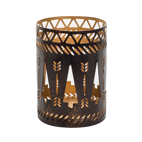WW Candle Holder Christmas Trees Dark