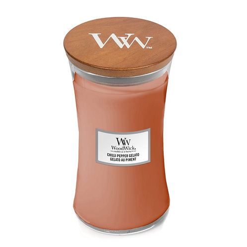 WoodWick Large Candle Chilli Pepper Gelato