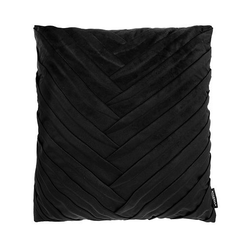 Kussen Emmy zwart 45x45cm