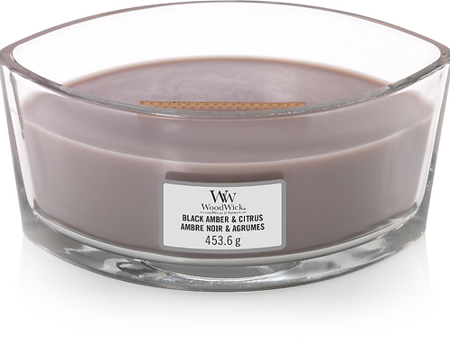 WW Black Amber & Citrus Ellipse Candle
