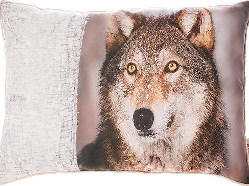 Kussen Wolf 50 x 70cm