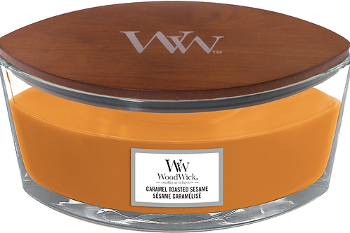 WW Caramel Toasted Sesame Ellipse Candle
