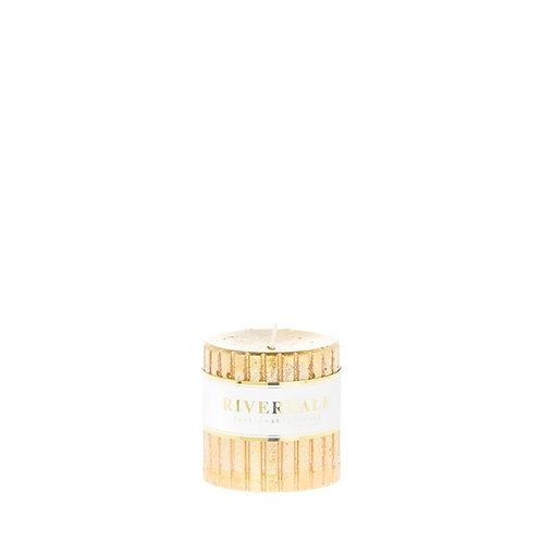 Kaars Venetian gold 7x7
