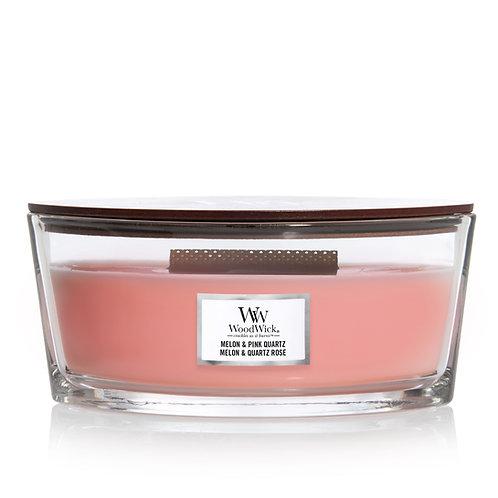 WoodWick Heartwick Flame Ellipse Melon & Pink Quartz