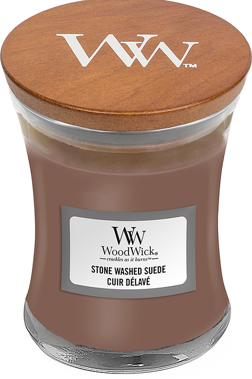 WW Stone Washed Suede Mini Candle