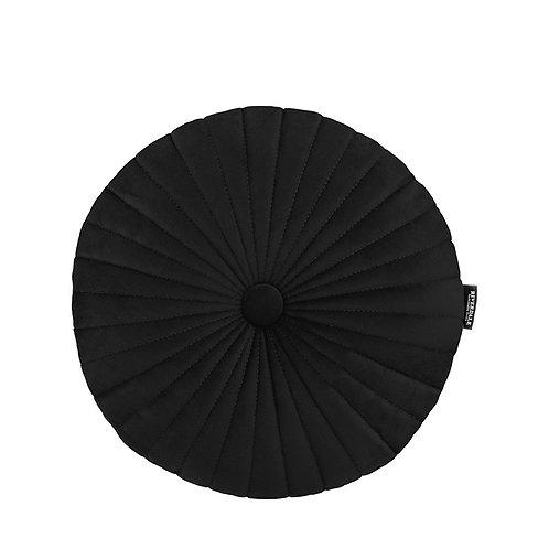 Kussen Emmy zwart ø40cm