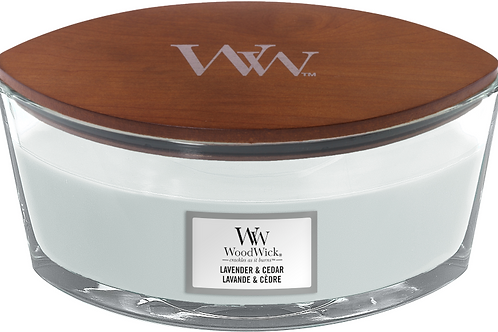 WW Lavender & Cedar Ellipse Candle