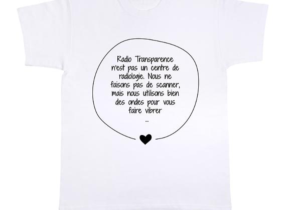 T-shirt Radiologie