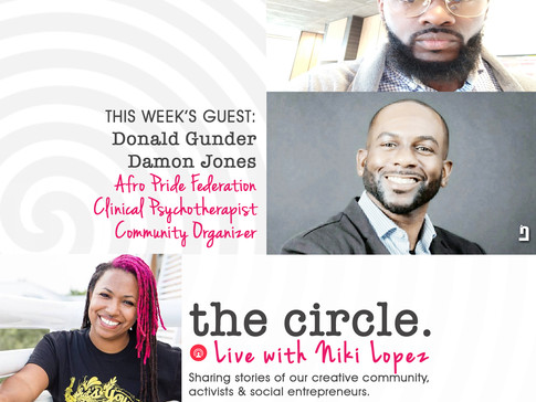 The Circle Guest Afro Pride