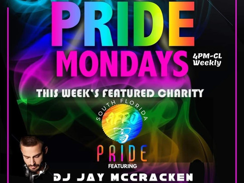 Pride Mondays featured charity Afro Pride Federation, Inc