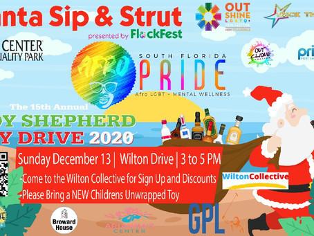 Santa Sip & Strut  (Judy Shepherd Toy Drive) December 13, 2020