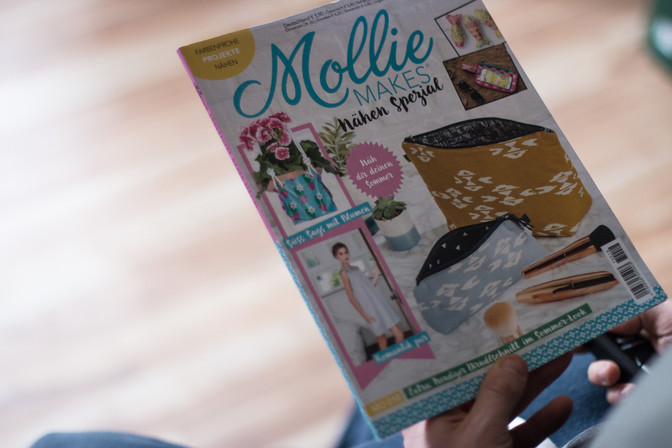 Zeitschrift Mollie MAKES veröffentlicht Dirnd´l Bilder!