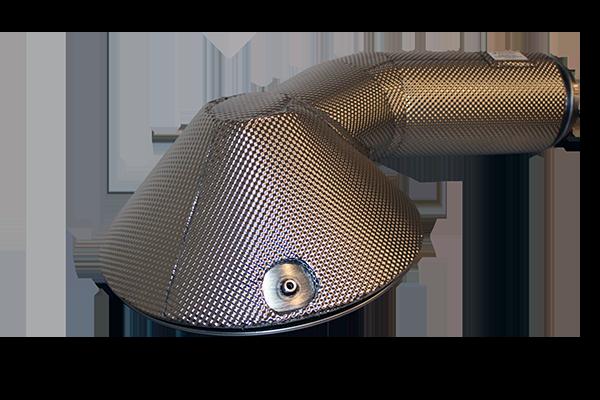 SCR end cone insulation