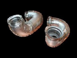 Abgasrohr, metallisch isoliert
