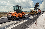 integral insulation for road-building machines