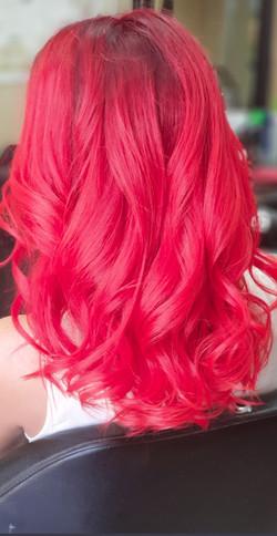 שיער אדום