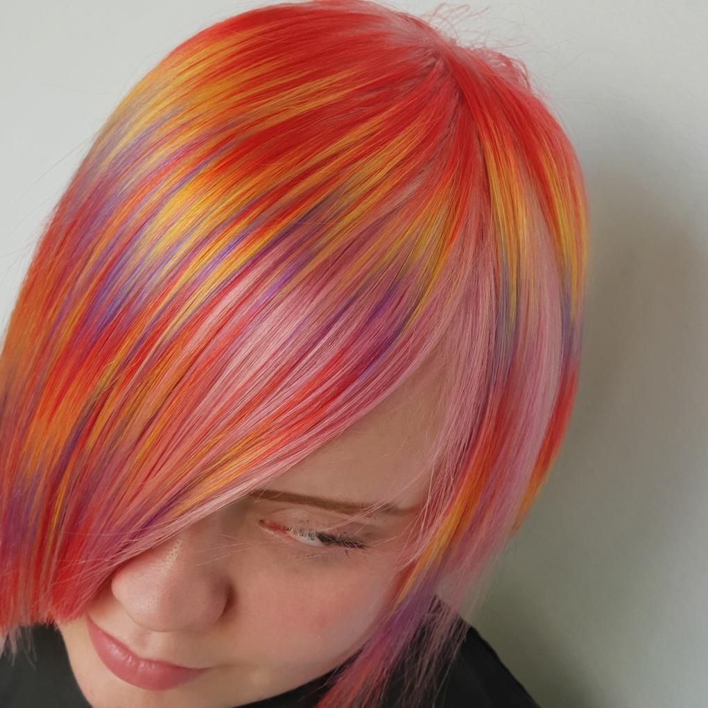 צבע לשיער לבון