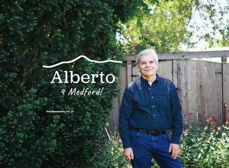ALBERTO ENRIQUEZ WINS MEDFORD PRIMARY