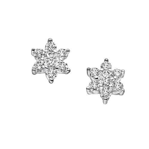 Orecchini in Oro 18 carati con Diamanti